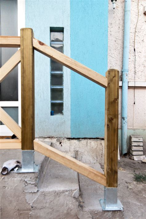 how to build deck stair railings howtospecialist how
