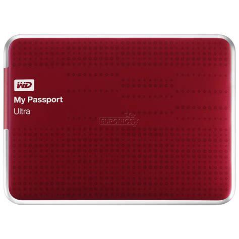 Harddisk Wd 500gb My Passport Ultra external drive my passport ultra 500 gb western digital wdbpgc5000ard eesn