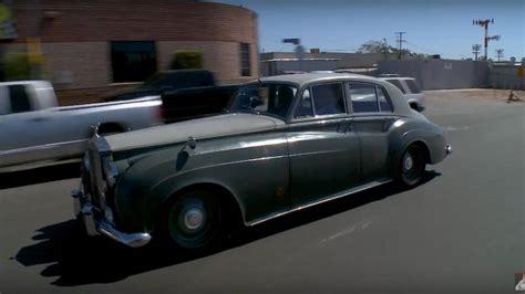 roll royce garage 1958 rolls royce silver cloud with ls7 v8 visits leno s garage
