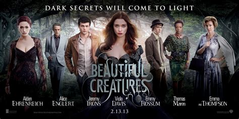 beautiful creatures new posters for the hobbit gangster squad beautiful