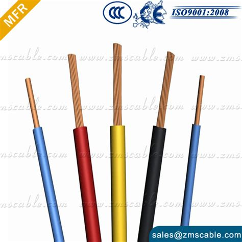 bvvb pvc insulated electrical cable wire size copper