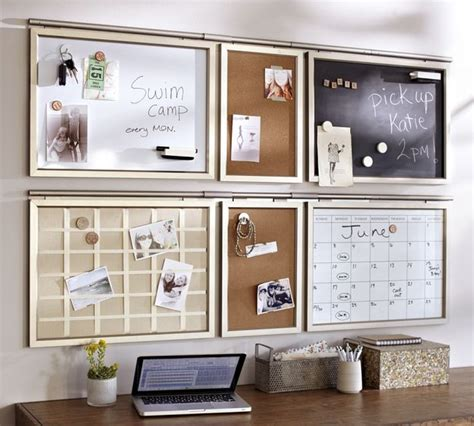 chalkboard bulletin board cork keyhook kitchen cabinet