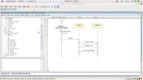 membuat sequence diagram menggunakan rational rose 3 create sequence diagram in rational rose youtube