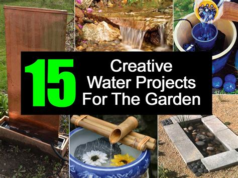 the best plants for a water garden 15 flowers for 15 creative water projects for the garden
