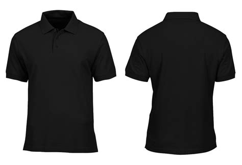 Tshirt Unite Buy Side buy black polo t shirt front and back 56