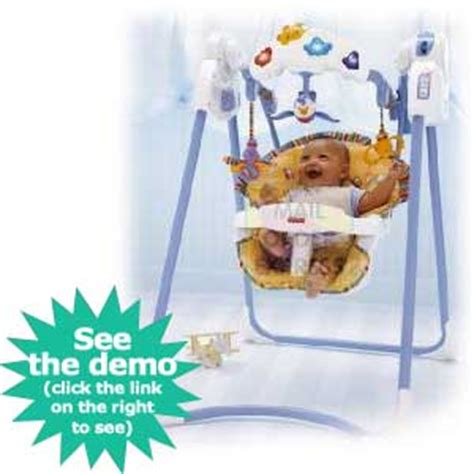 fisher price flutterbye dreams swing fisher price baby swing