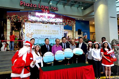 christmas lighting ceremony hotel gm speech plaza low yat tree light up ceremony 2015 technave