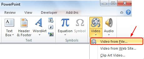 audio format in ppt how to sync video and audio files playback in powerpoint