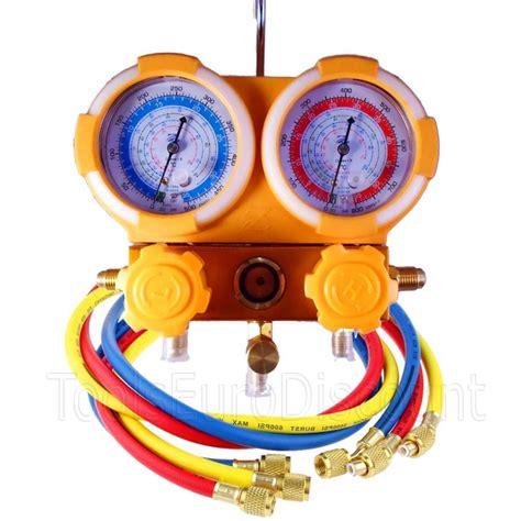 Manifold R22 manifold 2 voies r410a r22 r134a r404a ted