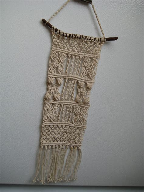 What Is Macrame - lovetheseventies macrame it hung on the wall