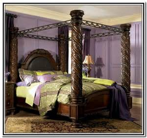 King Size Canopy Bedroom Sets King Size Canopy Bed Sets Home Design Ideas