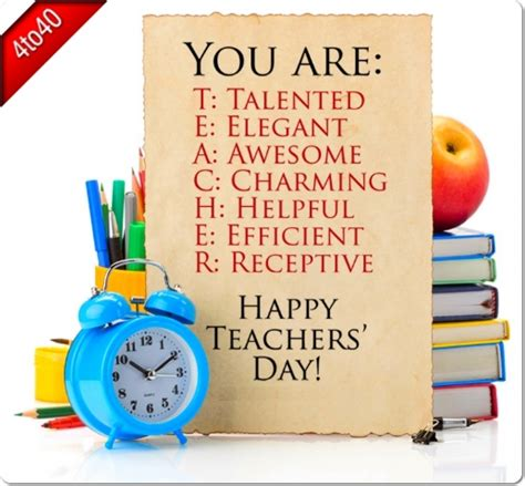 card for day greeting card for teachers decore