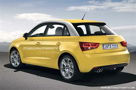 Audi A1 Gelb by Rendered 2012 Audi A1 Sportback
