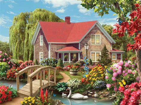 collector pc country hideaway puzzlewarehousecom