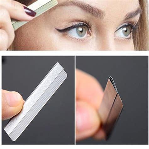 Set Eyebrow Razor Blades 10 Pcs pro 10 pcs dedicated scraping eyebrow shaping eyebrows