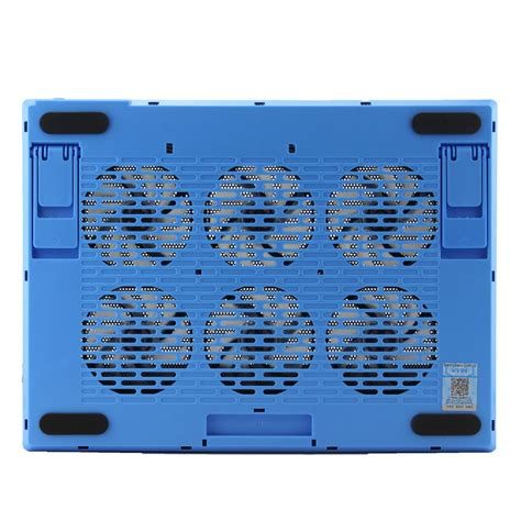 Notebook Cooling Pad Computer 4 Fan S60 Black cooling pad 6 fans for notebook laptop black blue