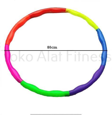 Hula Hoop Warna Warni Diskon hula hoop warna warni 80cm toko alat fitness