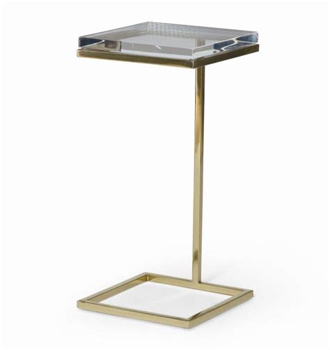 martini table acrylic martini side table mecox gardens