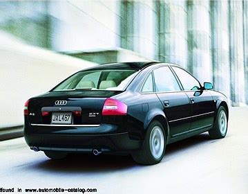2001 Audi A6 Quattro 2 7 T 2001 Audi A6 2 7 T Quattro Since Mid Year 2001 For Europe