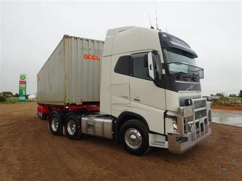 volvo truck dealers australia volvo fh 600 review rob sinclair and blair davies