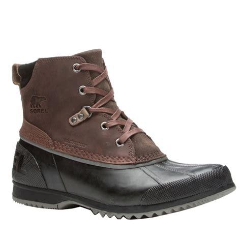 sorel mens boots sorel ankeny mens boots ebay