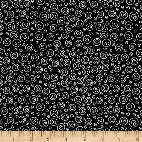 knit happy knit happy swirl black discount designer fabric fabric