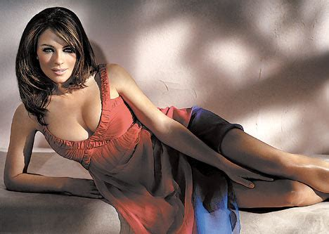 Liz Hurley Mumsy For Monsoon monsoon banks a million on hurley creating a daily