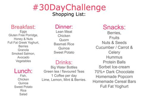 15 day diet challenge the 30 day challenge she wears high heels uk lifestyle