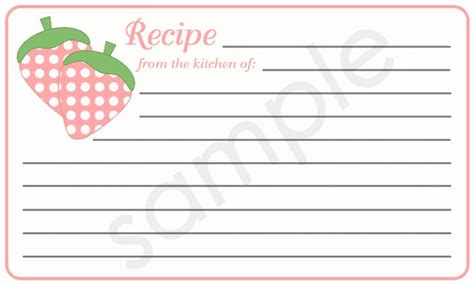recipe cards on pinterest recipe cards printable recipe cards printable strawberries recipe card healthy pinterest