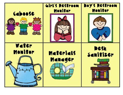 printable job labels clipart classroom cliparts co