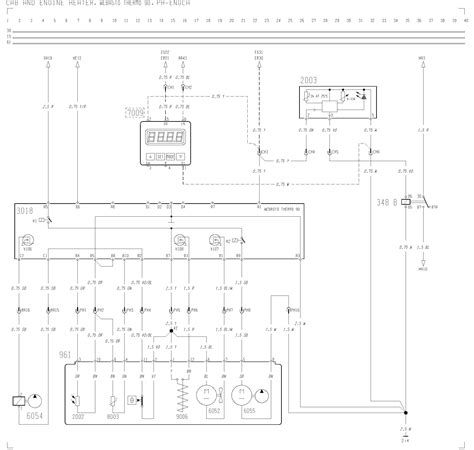 volvo f12 f16 wiring diagram cab and engine heater