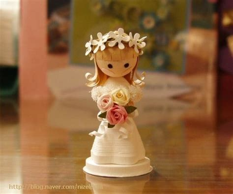 How To Make Dolls With Paper - 17 best images about paper quilling on