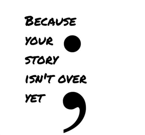 the semicolon project my thoughts on what it means to me