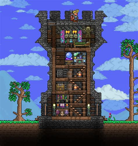 House Building Ideas little wizard tower terraria