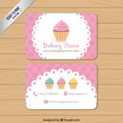 baking business cards bakery business card vector premium