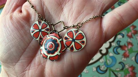 Handmade Recycled Jewelry - handmade jewelry recycled tin necklace e bayzon