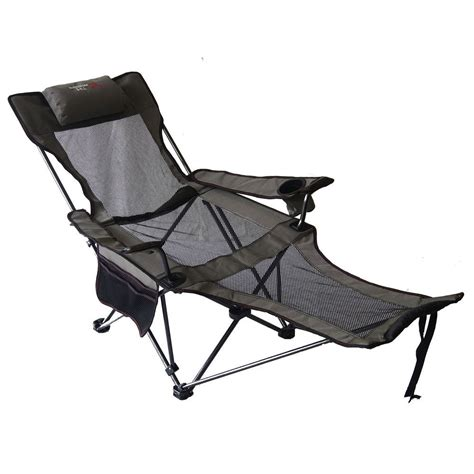 Reclining Folding C Chair With Footrest Lightweight Cing Chair Recliner Best Chair Decoration