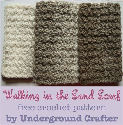 pattern of evidence amazon free pattern walking in the sand scarf underground crafter