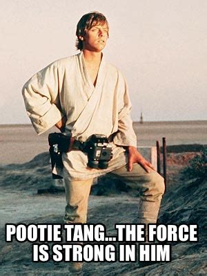 Pootie Tang Meme - meme creator pootie tang the force is strong in him