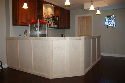 standard bar top overhang is there a standard overhang for the front of a bar avs