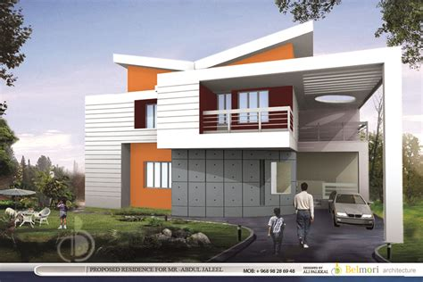 home design architecture 3d ft modern home design 3d views from belmori architecture