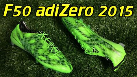 Adidas Adizero F50 Electric Greenblack adidas f50 adizero 2015 solar green black review on