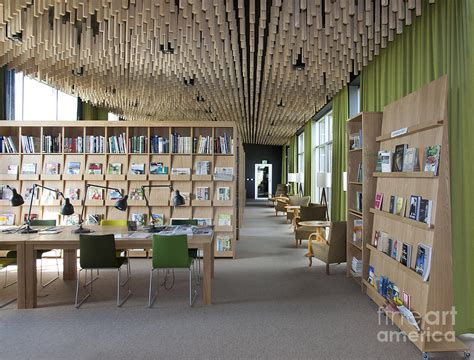 Library Interior by Library Interior Photograph By Jaak Nilson