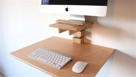 secure imac to desk wall mounted standing desk imac model gereghty desk co