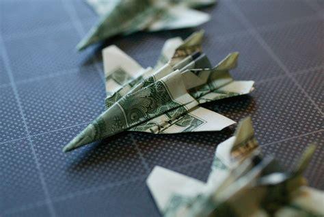 Origami F 18 - dollar origami f 18 take 2