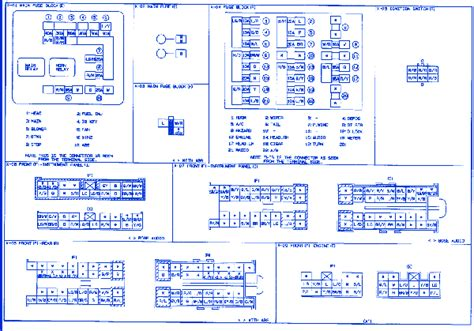 mazda miata  fuse boxblock circuit breaker diagram carfusebox