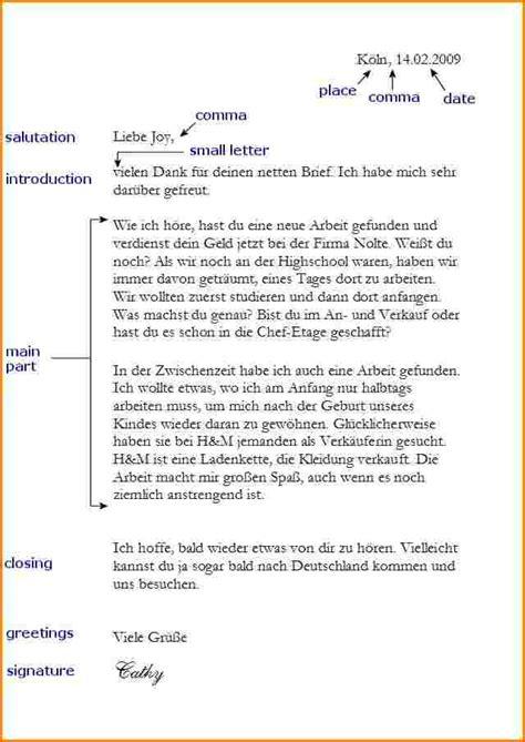 Vorlage Briefformat Formeller Brief Vorlage Reimbursement Format