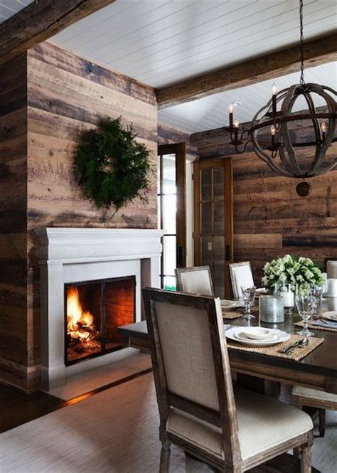 rustic modern wall 24 interiors in cabin log style messagenote