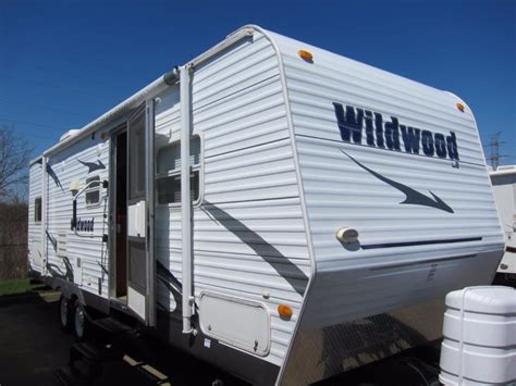 used 2005 forest river rv wildwood le 31qbss le travel forest river wildwood le rvs for sale