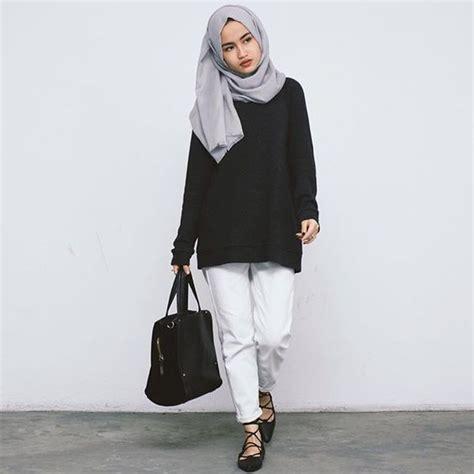 Berry Top Tunik Blouse Lengan Panjang Hijabers 30 gaya fashion casual terbaru 2018